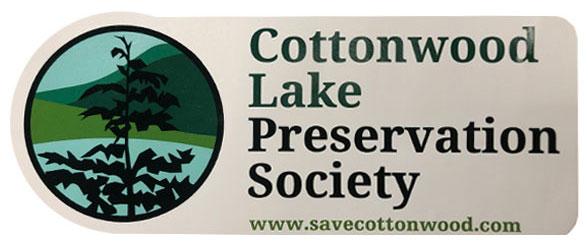 Image of Cottonwood Lake-Bumper-Sticker