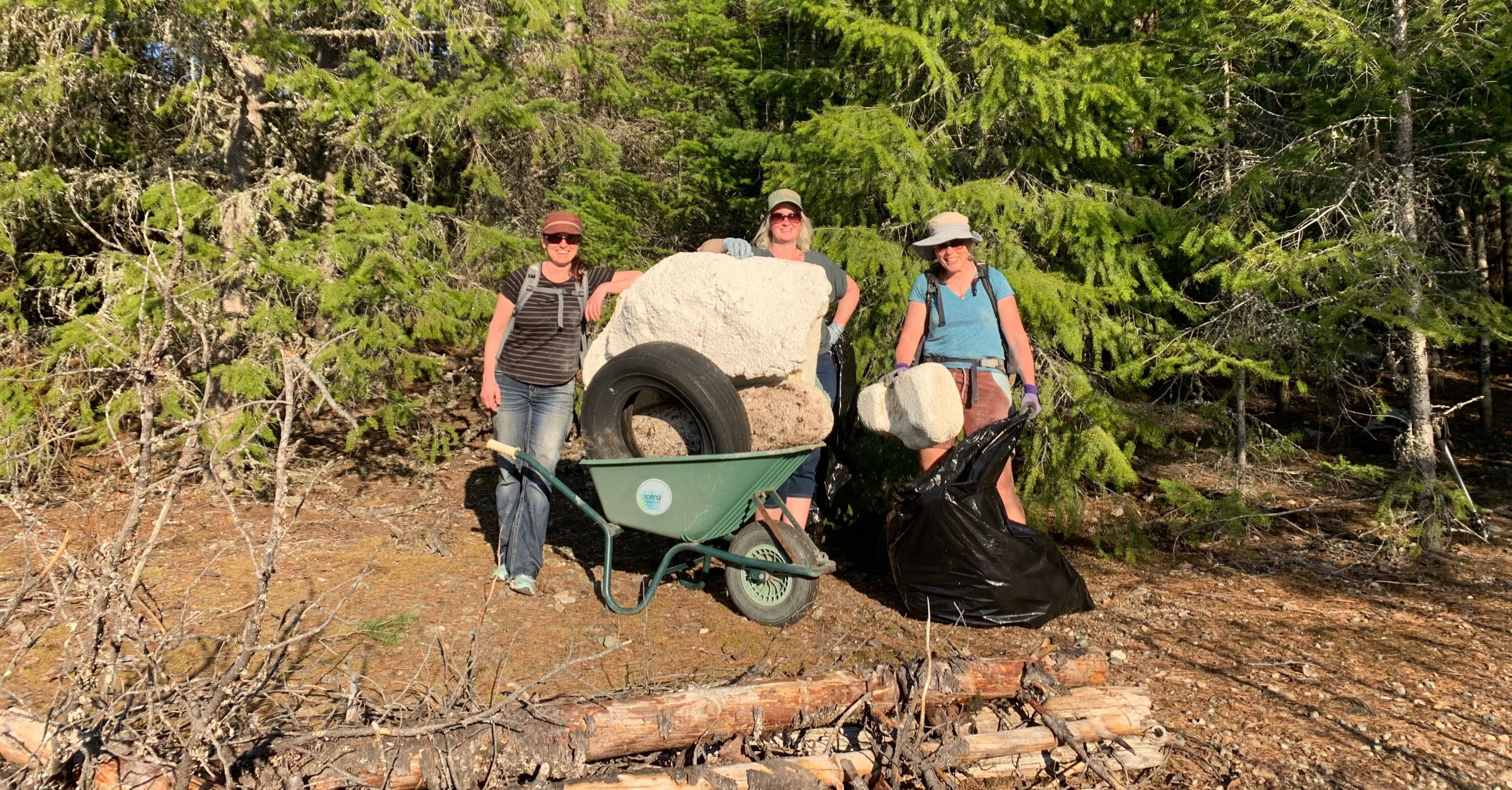 Earth-Day-2021-Beach-Cleanup-Spring-Creative-Kootenay-River